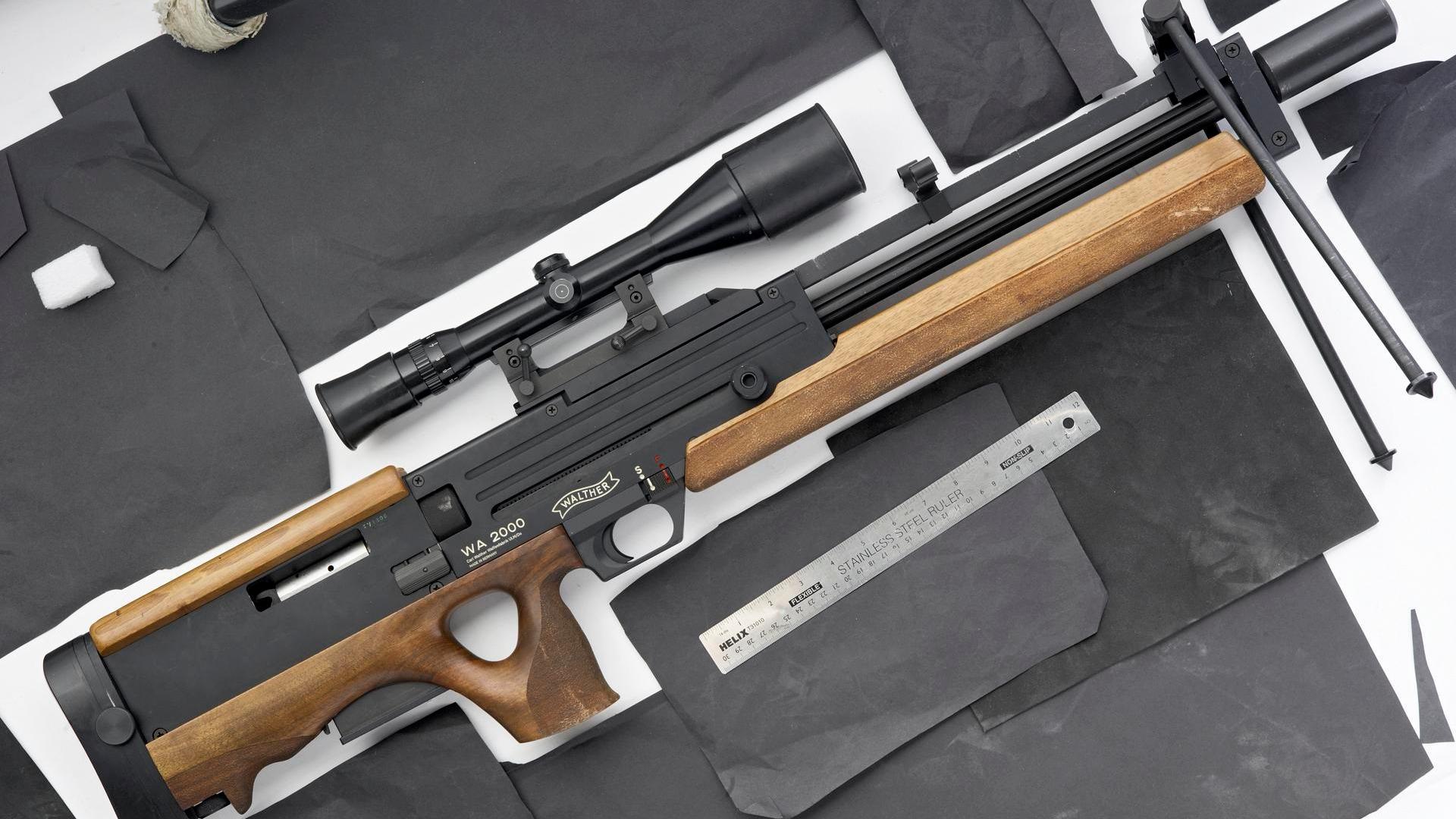 【讲堂573期】详解瓦尔特WA2000狙击步枪,无托结构设计,售价高达50万人民币