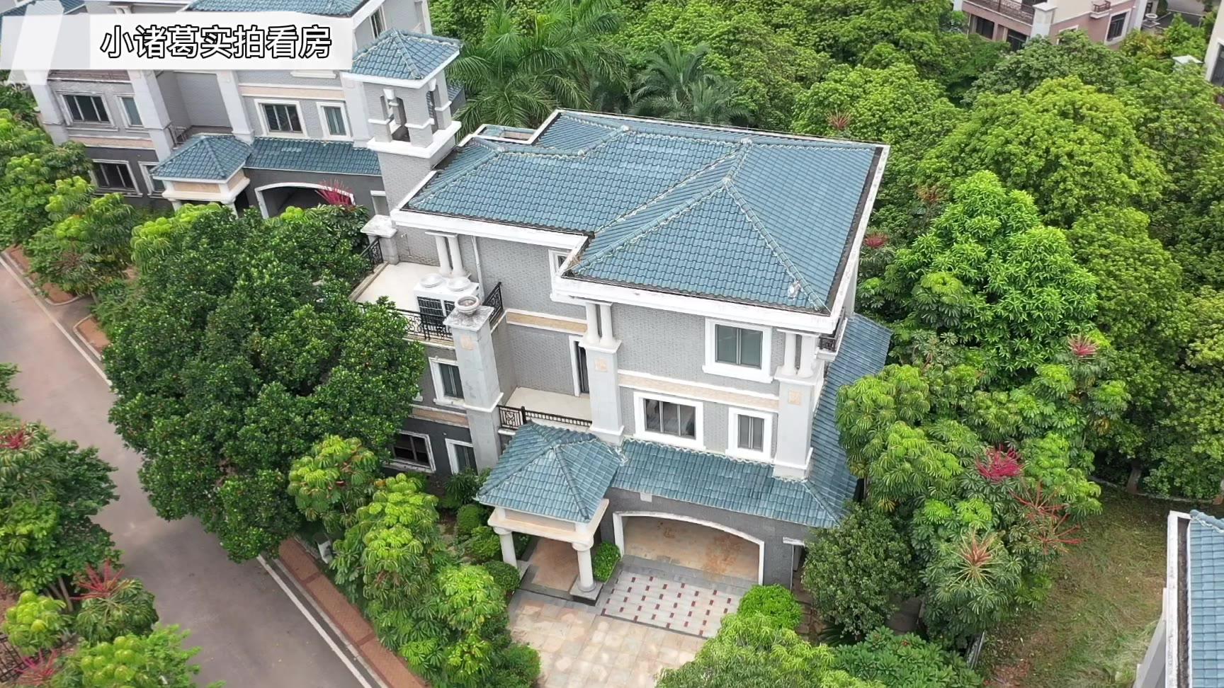 广州低密度大宅:占地面积1000㎡独栋,这才是别墅应该有的样子。