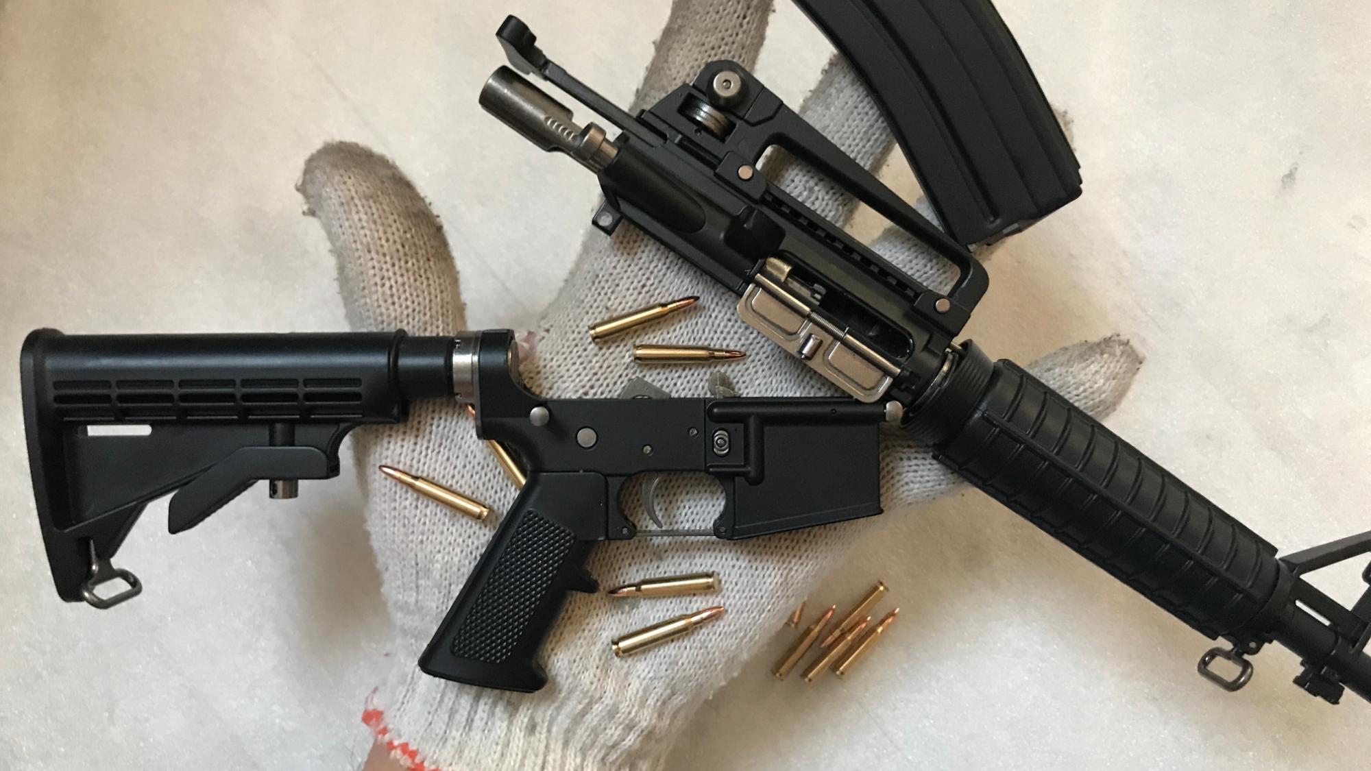 【红星劳保】有趣的M4卡宾枪微缩模型
