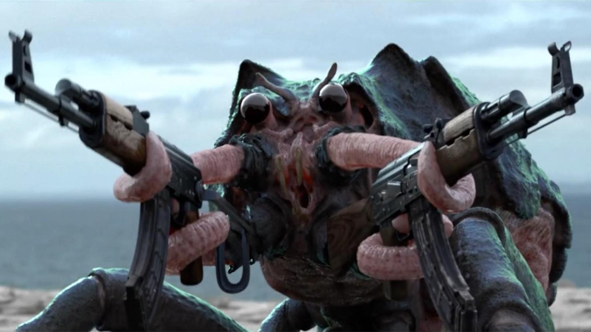 人类殖民原始星球,把武器卖给外星螃蟹人,却不知自己大难临头了