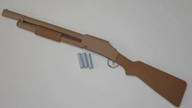 纸板手工diy手工制玩具猎枪纸板手工制作wgog911