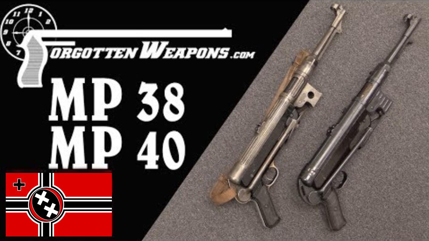 【被遗忘的武器/双语】二战德军主力冲锋枪--MP38/40