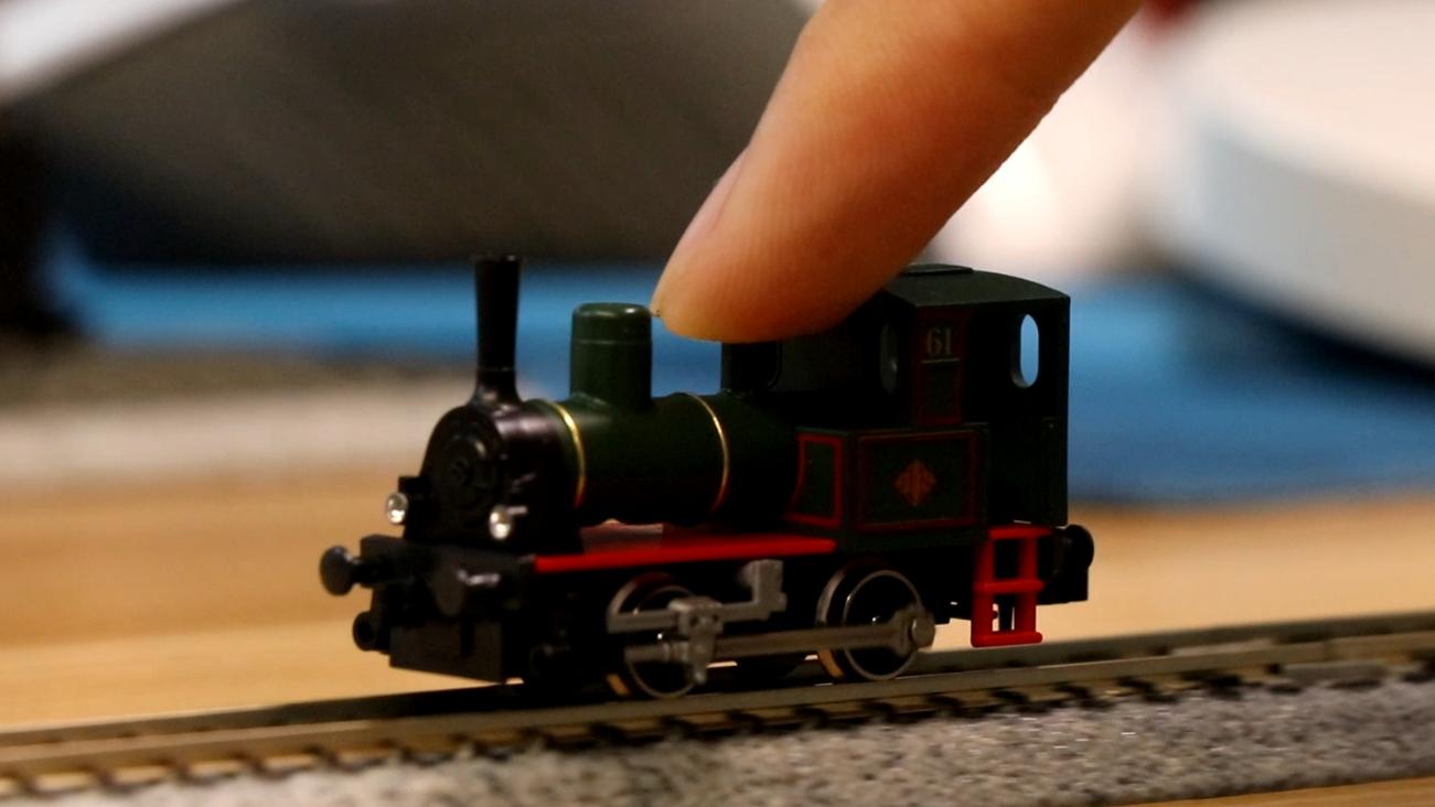 【开箱】可爱的N比例小蒸汽机车模型
