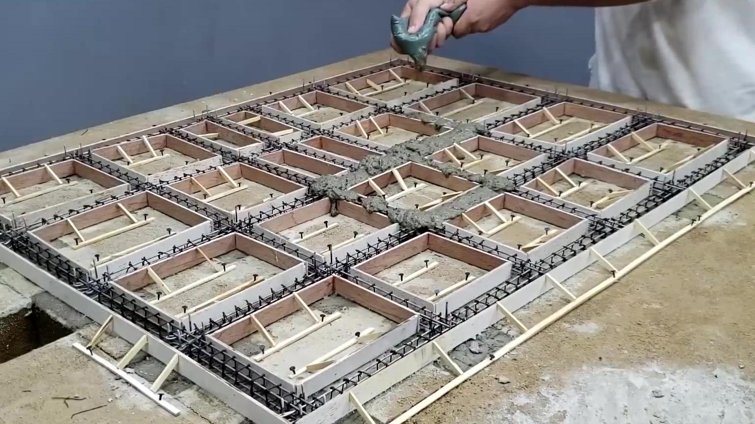 如何为一座混凝土迷你别墅打造一个坚固的地基与基础