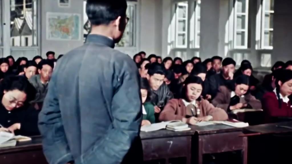 一部70年前的前苏联彩色纪录片剪辑《 中国 1949-1950》,当时的影像太珍贵了