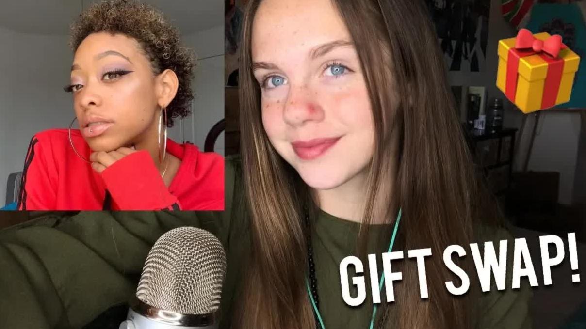 【Gracie K】和柴娜交换圣诞礼物