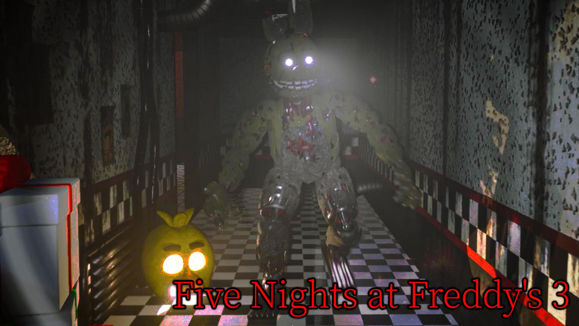 玩具熊超可动模拟器3:费斯熊披萨店转型惊悚乐园?极栗解说