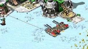 【红色警戒】路人局对战:我天启坦克都来了,你重工还没出?!