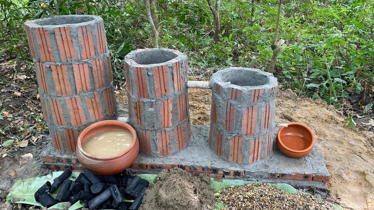 越南小哥-纯手工打造罗马地下水过滤系统
