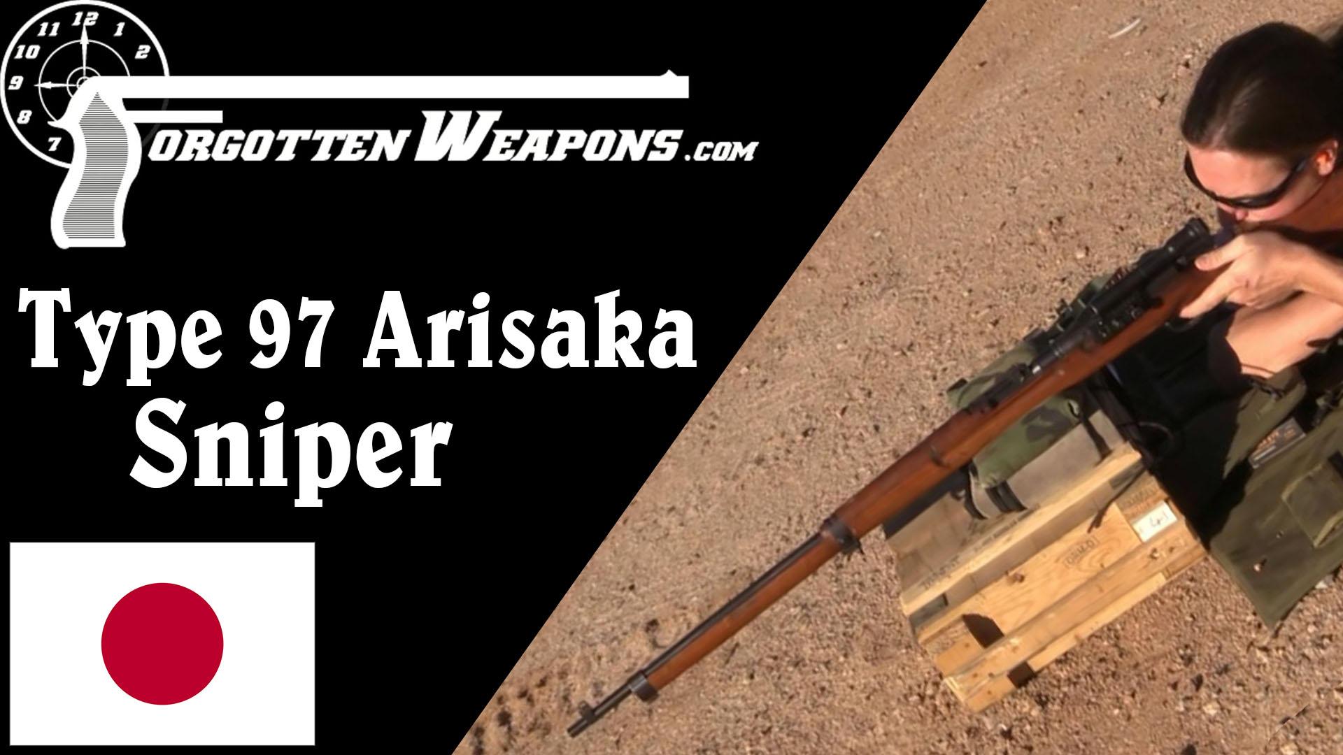 【被遗忘的武器/双语】日本九七式狙击步枪靶场试射