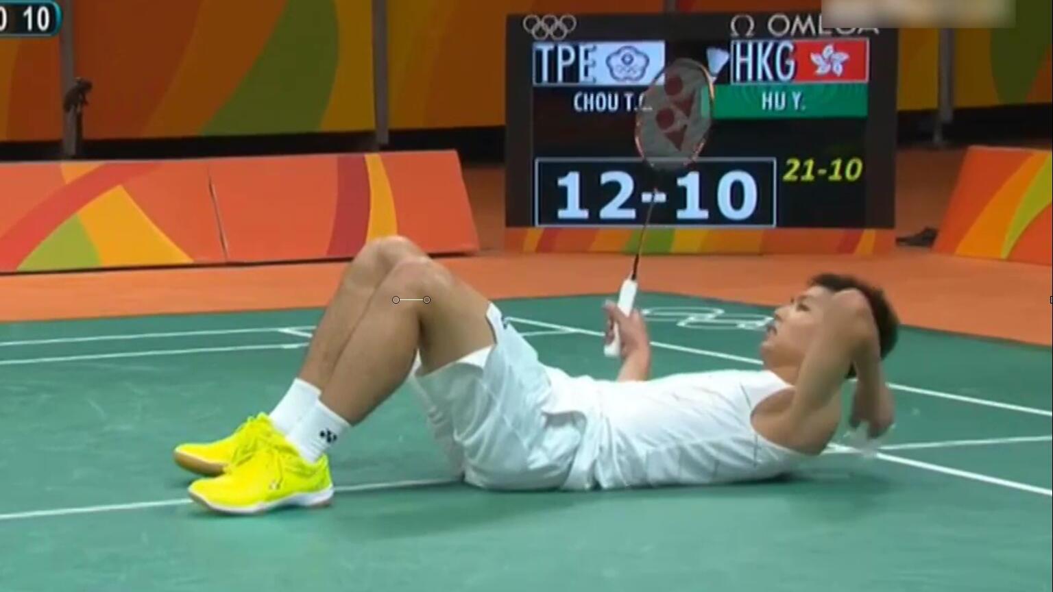 【里约奥运】中国香港胡赟对阵中国台湾周天成 看看谁会赢 周天成vs胡赟
