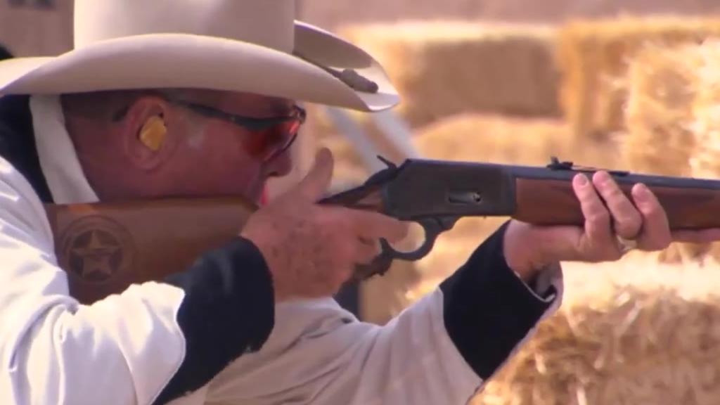 美国牛仔射击比赛
