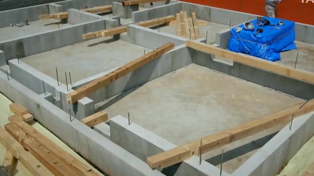 一座普通的房屋的建造全过程!从伐木开始,太舒适了
