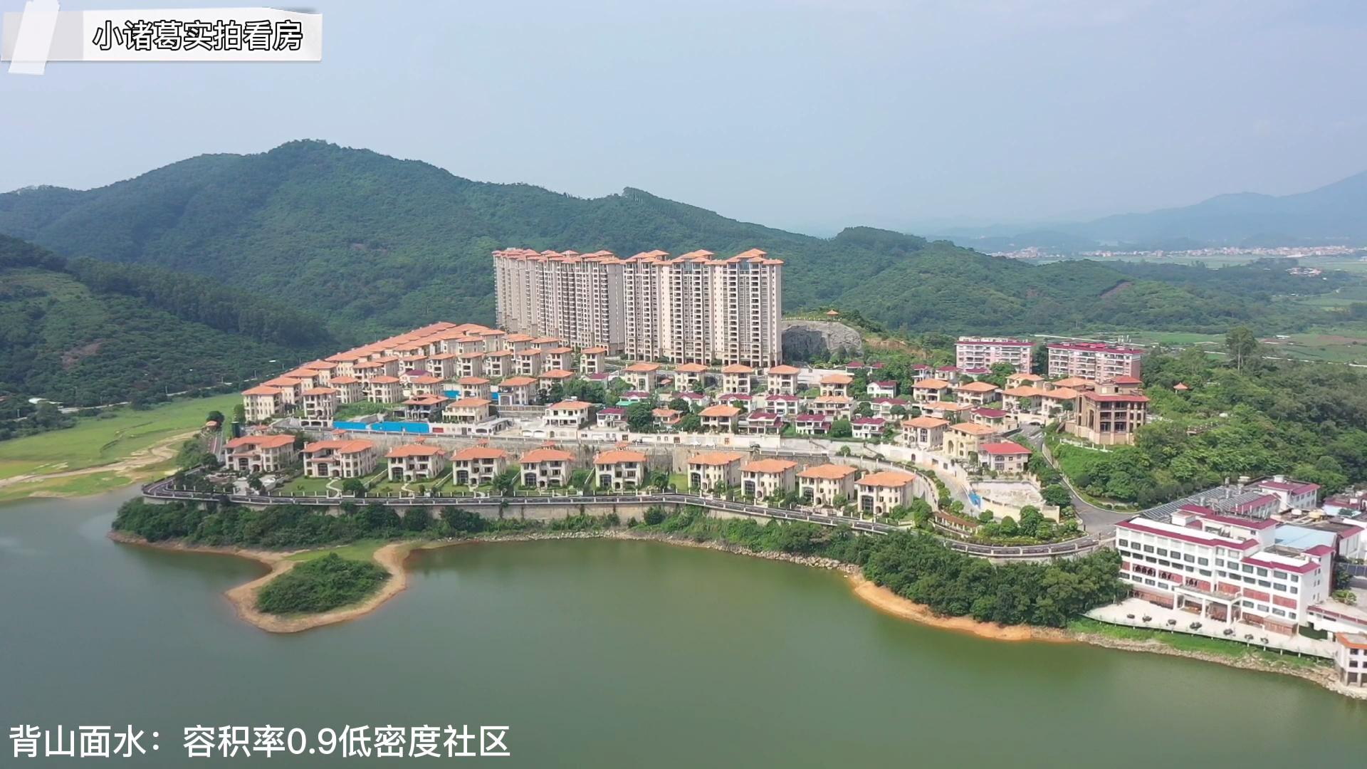 实拍:广州价值4000万独栋豪宅别墅,稀缺湖景资源就值上千万!