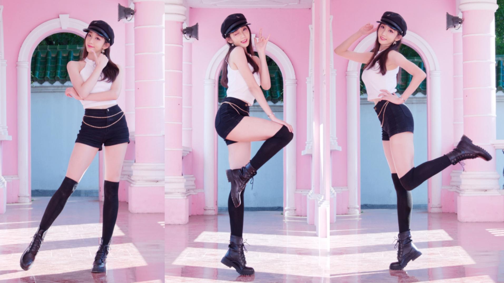 辣味冰淇淋尝过吗?BLACKPINK新曲Ice Cream翻跳【清清】【4K】