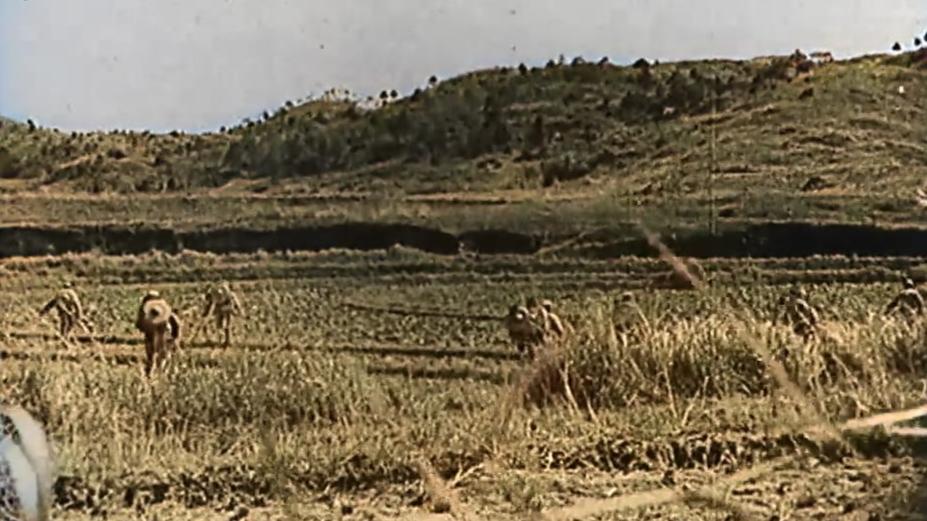 【AI色彩修复】抗日战争的中国士兵