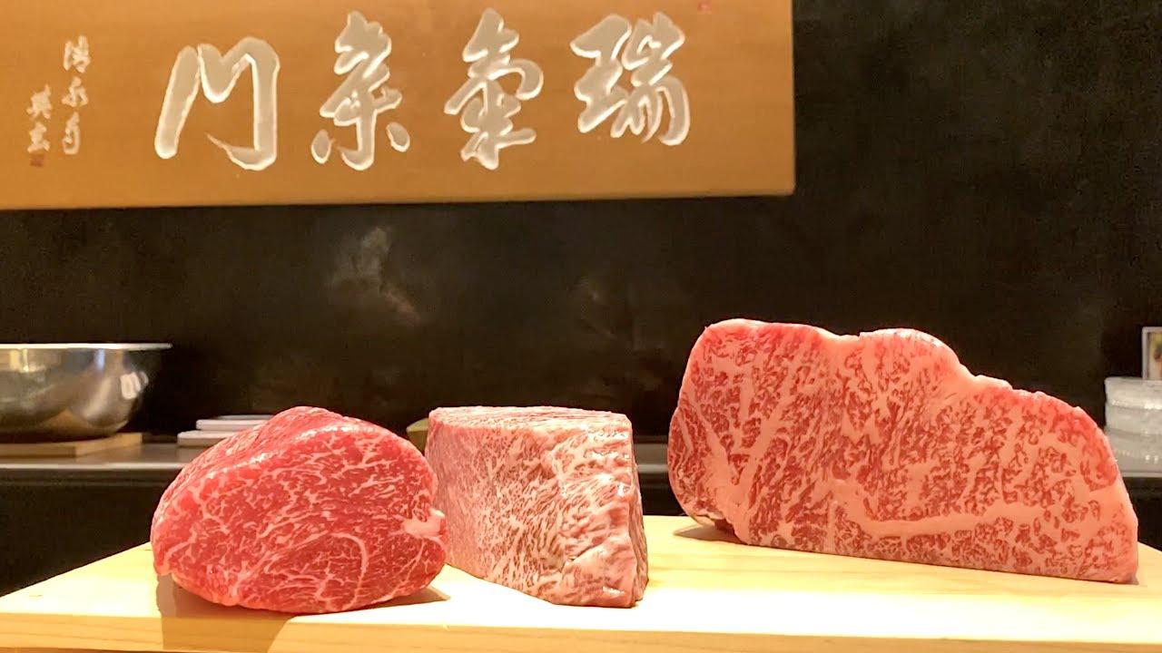 最高级别京都近江日本和牛,简直是人间极品!