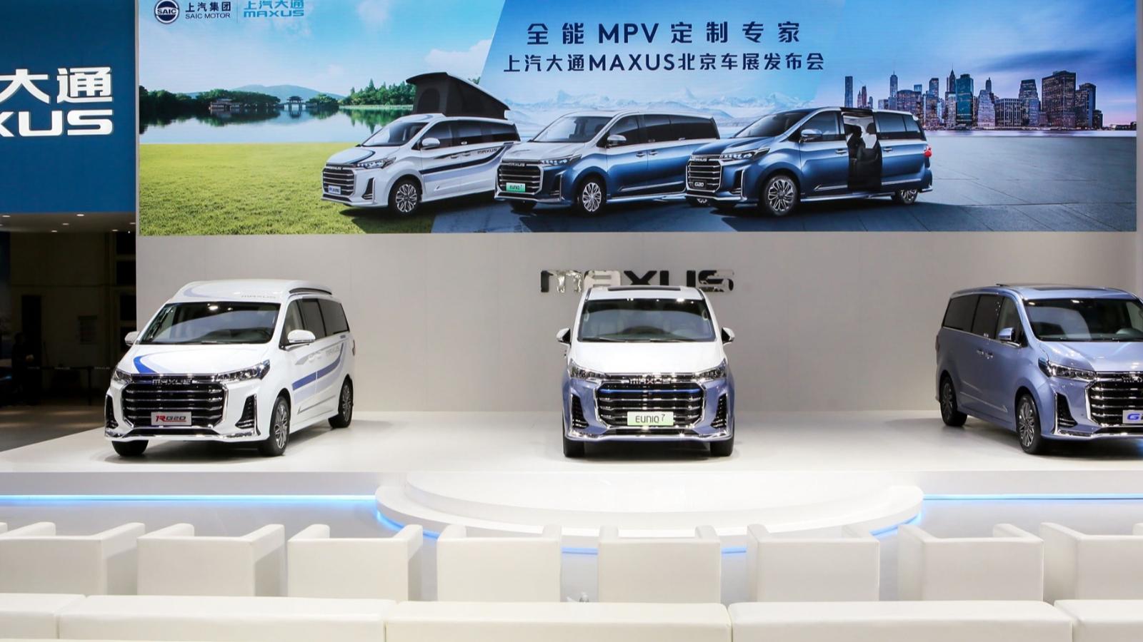 26.98万起覆盖商务旅居全领域,上汽大通MAXUS连发三款重磅MPV