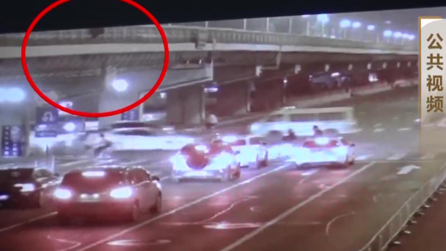 北京一男子酒后从桥上坠落,恰好被轿车碾压,法院:司机无责