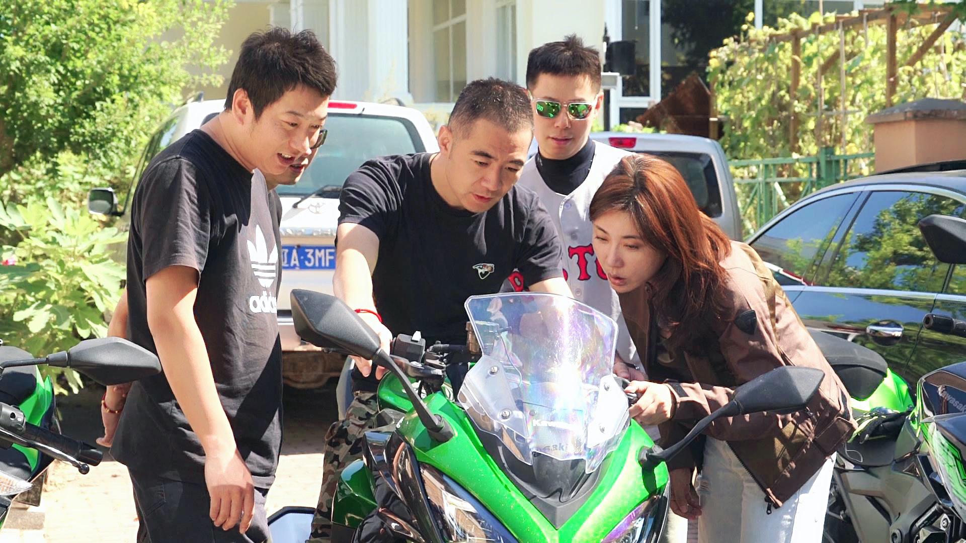 骑摩托车 除了钱最需要什么?