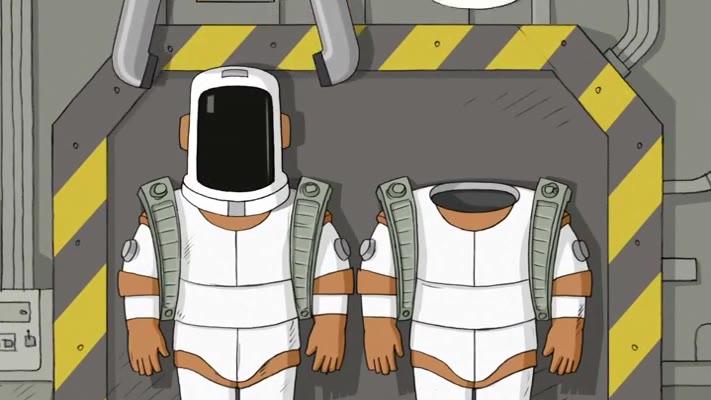 动画短片《没有宇宙我们无法生存 Мы не можем жить без космоса》