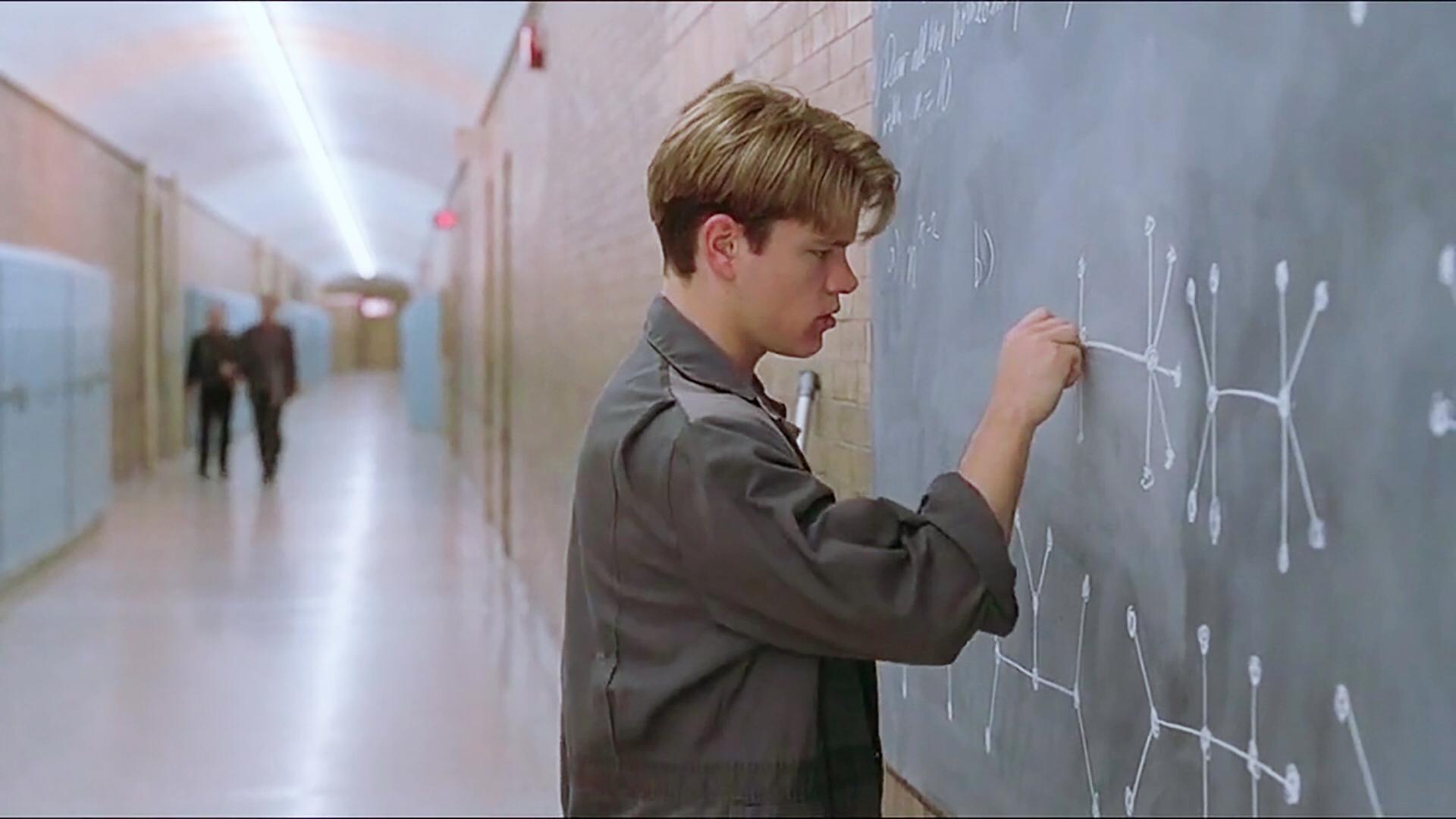 麻省理工清洁工,2分钟破解数学界世纪难题,罕见的优秀电影
