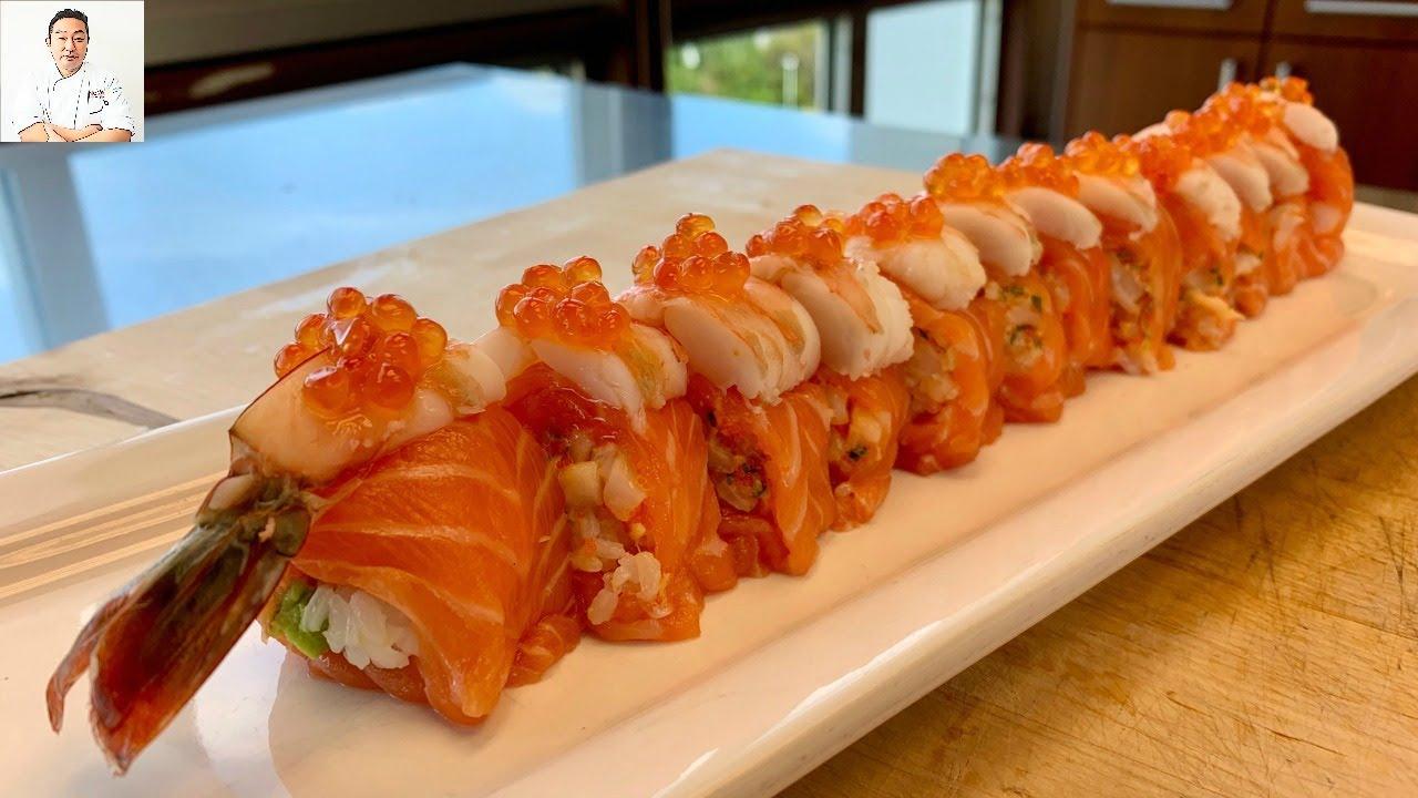日本人用寿司向我们展示了,寿司到底该如何做怎么吃?