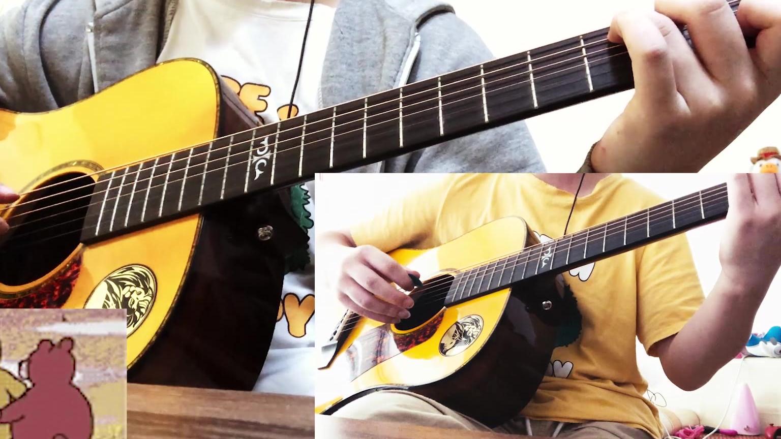 《吉他自学日记79天》 夜空中最亮的星 伴奏+旋律 纯音乐