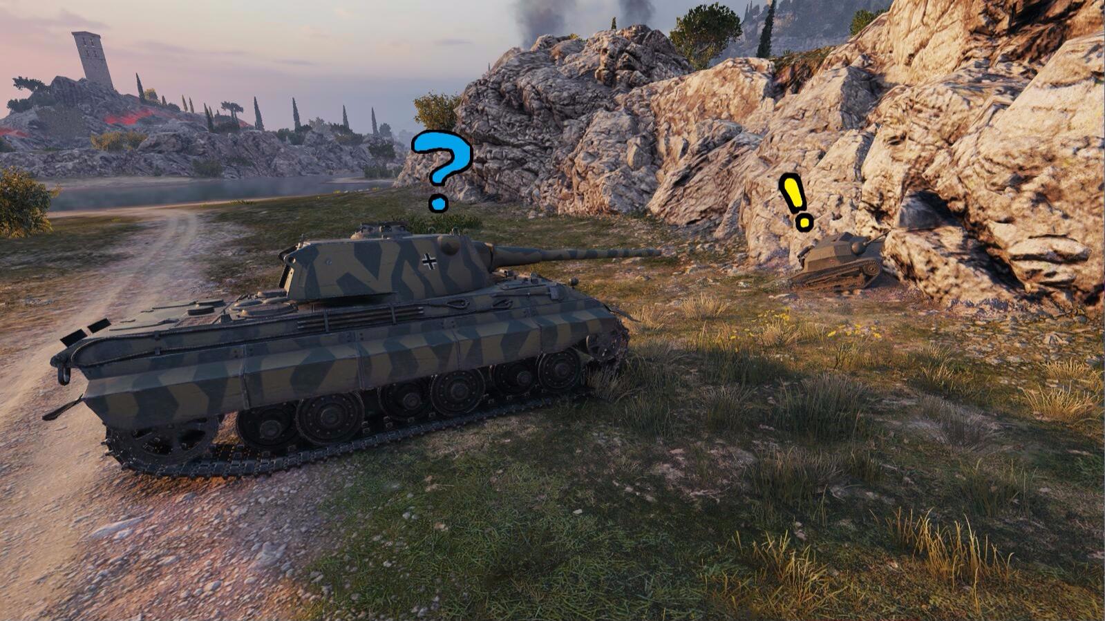 [坦克世界]AcFun军团国庆中秋活动第一环节:拟真躲猫猫