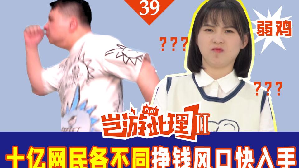【岂游此理Ⅱ】39十亿网民面貌不同 挣钱风口赶快入手
