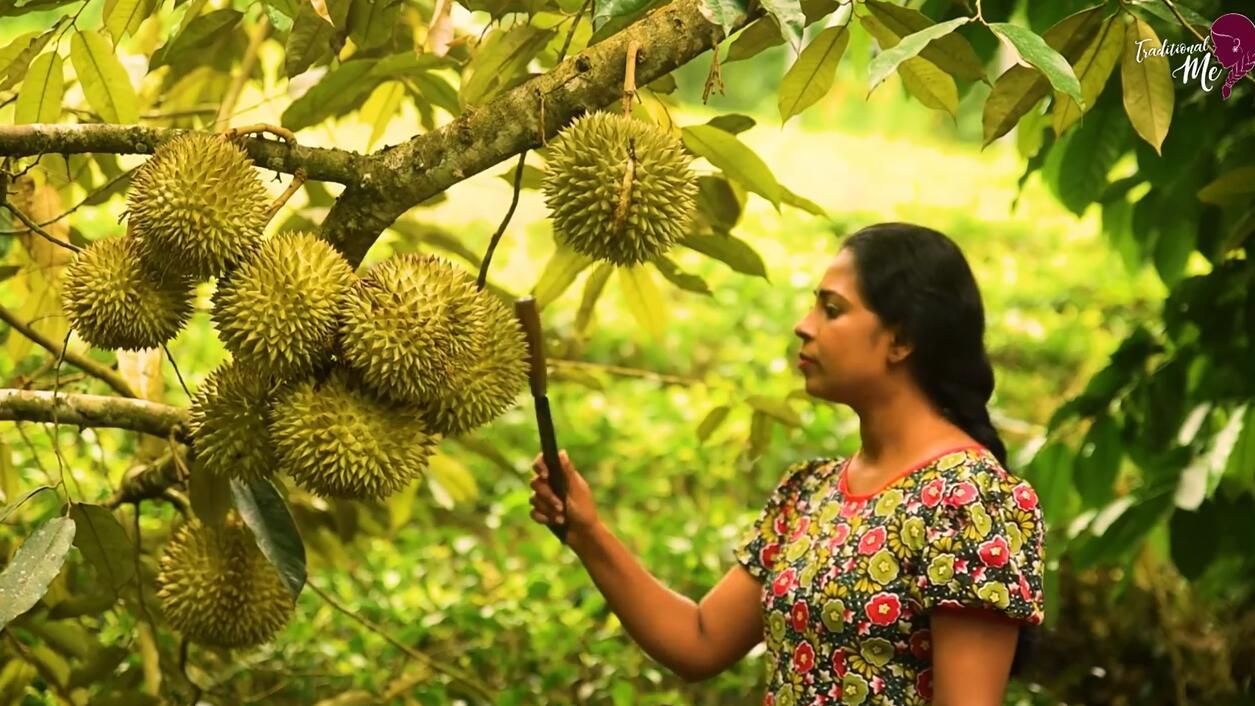 榴莲这么吃,只有印度人才想的出来!