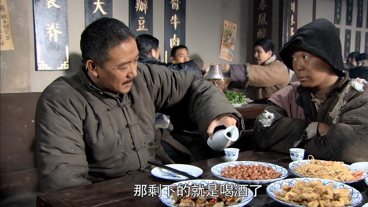 吃戏:一群乞丐到多次光顾朱家饭馆,后来才发现被人骗了