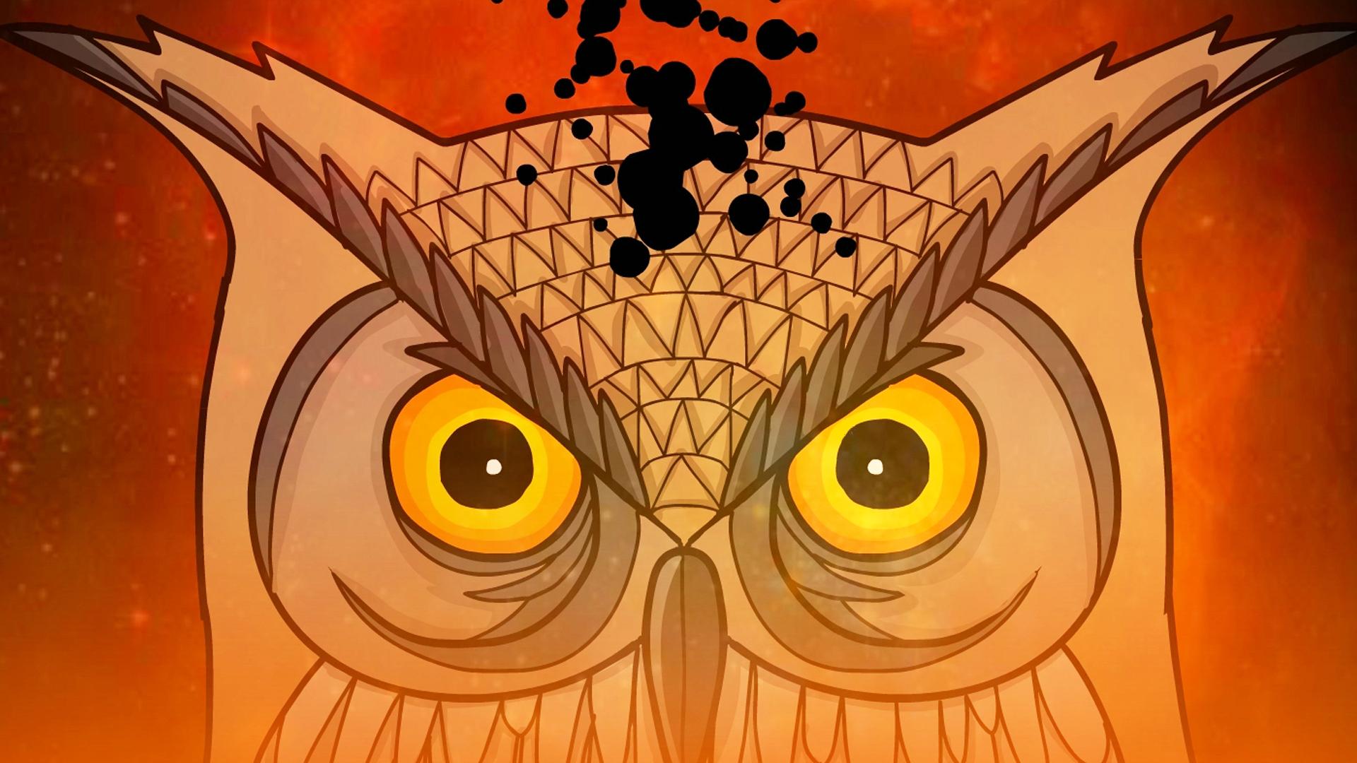 猫头鹰先生的真实身份《锈湖:天堂岛》下