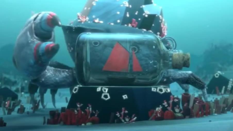 动画短片《巨蟹岛的传说》