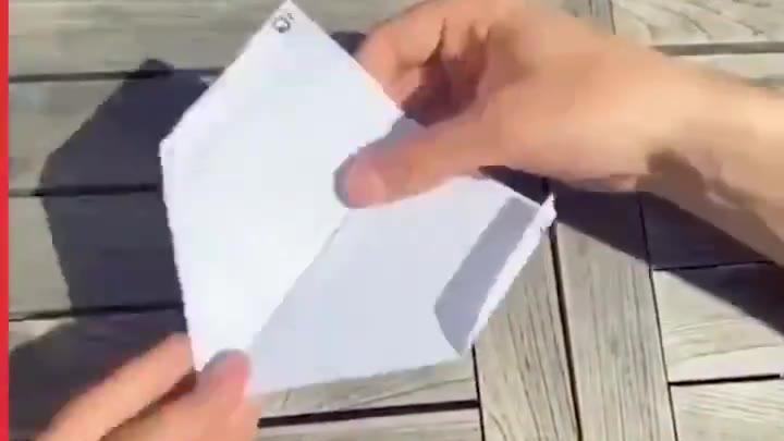 叠个不一样的纸飞机