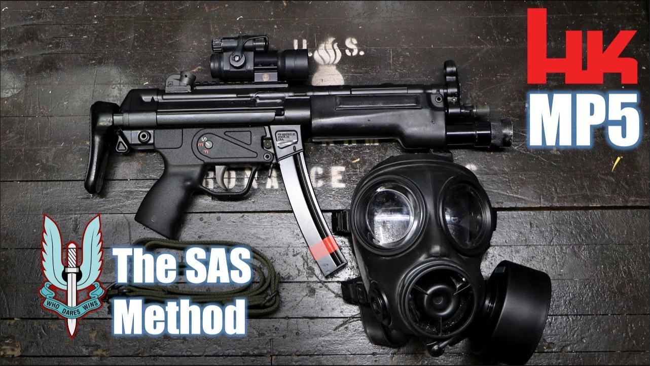 英国SAS与MP5还有三点式背带的渊源