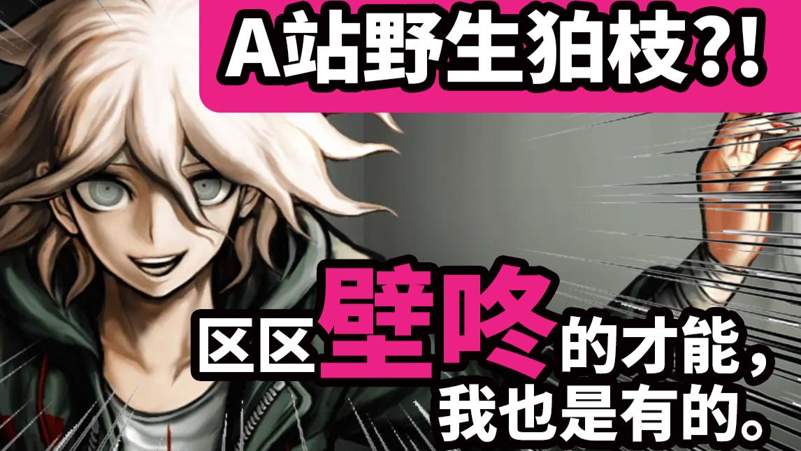 建议改为:Acfun野生狛枝凪斗?!【声真似】【弹丸论破】