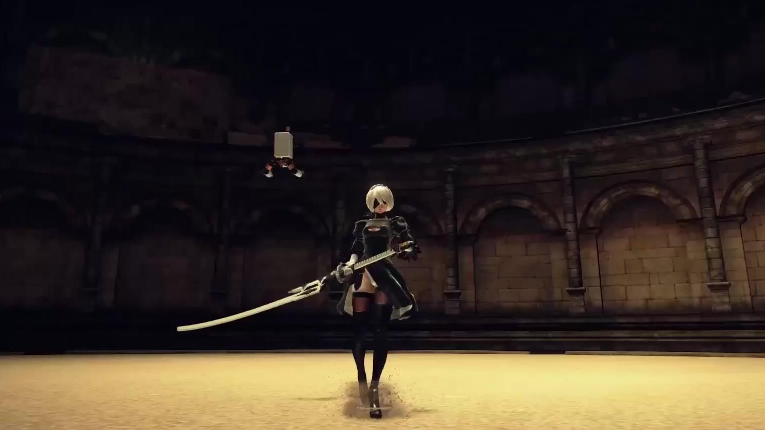 2B-武器展示-重剑斩