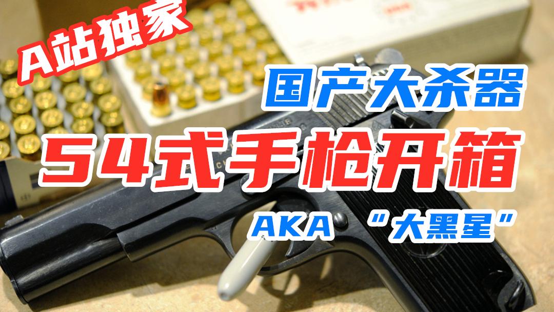 【加拿大拍摄】54式手枪 | 国产大杀器 | 口径7.62×25| 王中王WZW | 【加拿大拍摄】