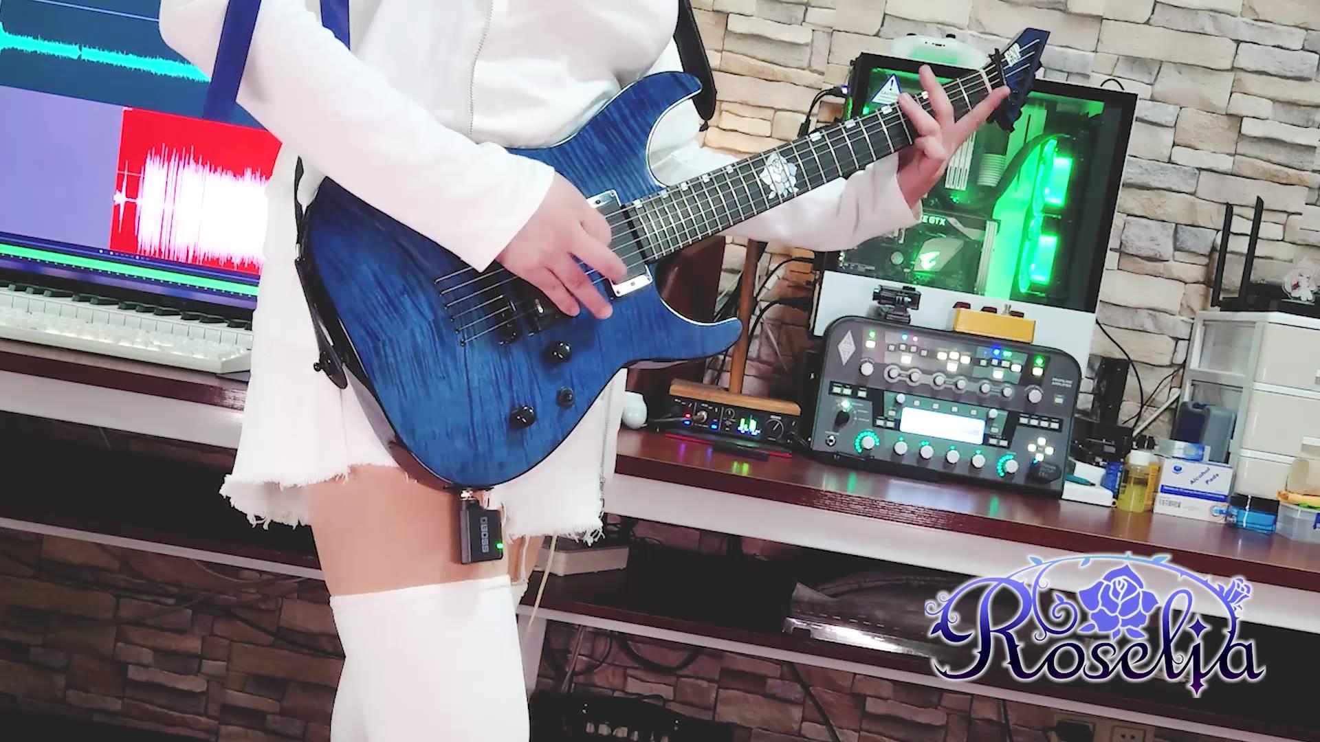 【Roselia】前卫派历史 Avant-grade HISTORY 电吉他翻弹