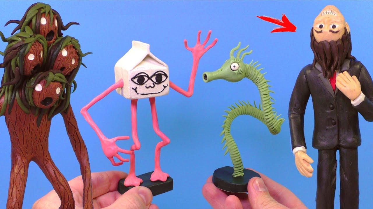 奇异生物雕塑作品:奇奇怪怪的东西又增加了!