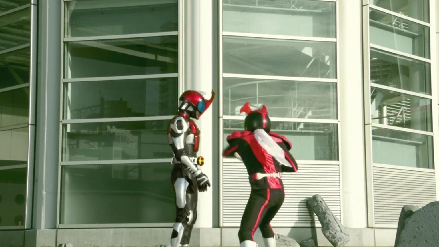不同人使用kabuto骑士踢对比