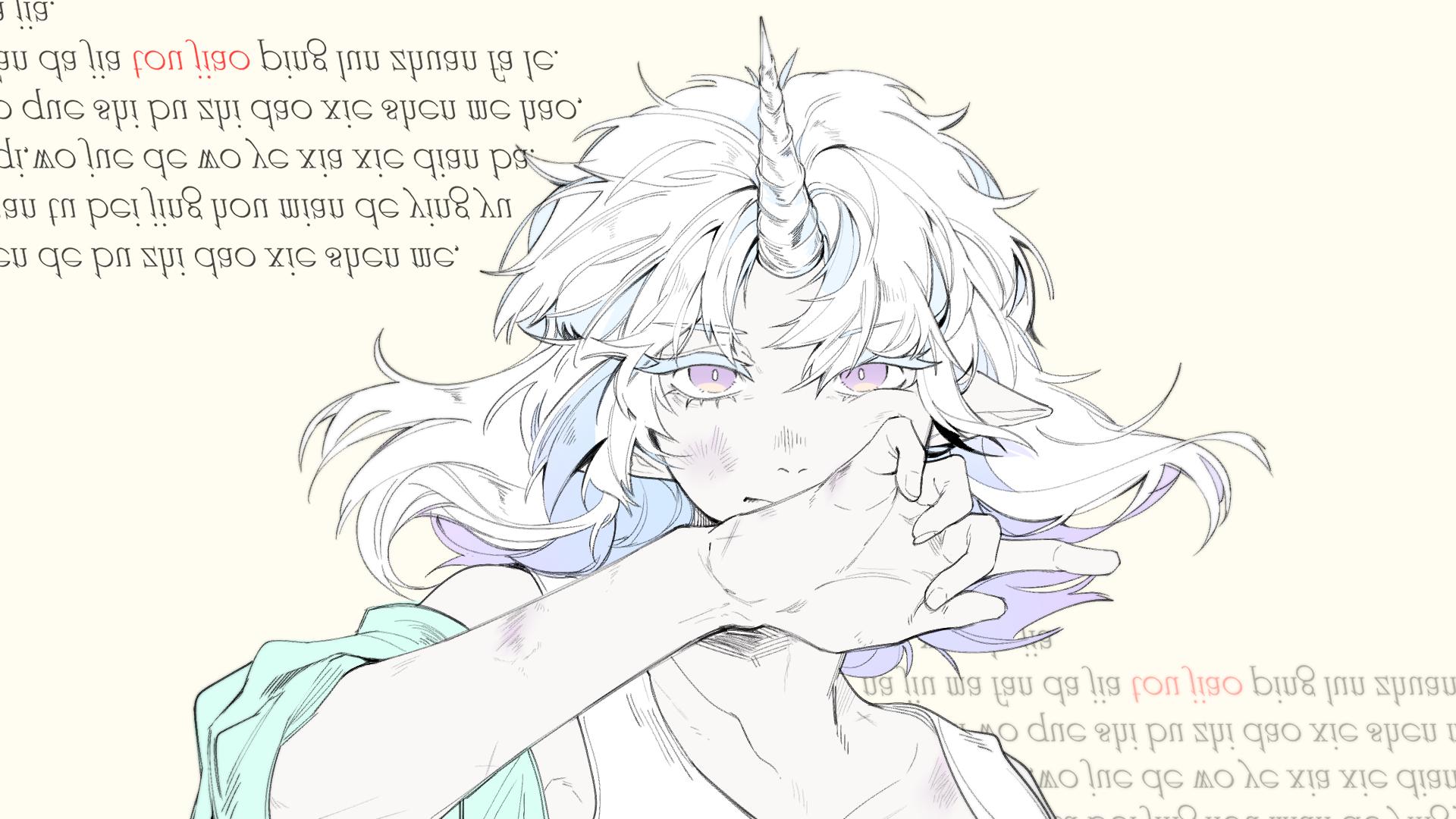 【懿岚】【VUP万圣祭】一角獣(独角兽唱着独角兽的歌)