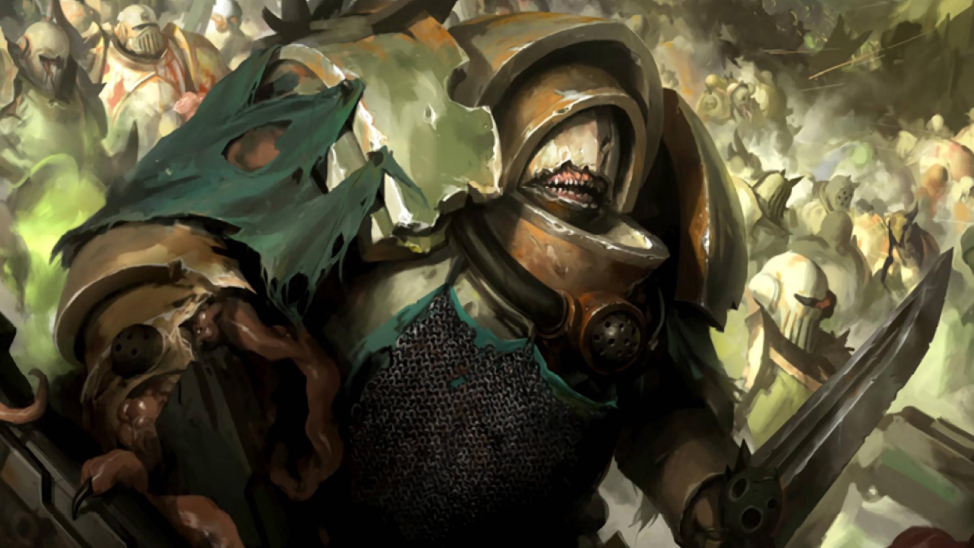 【战锤百科】与盔甲融合到一起的死亡守卫精英们