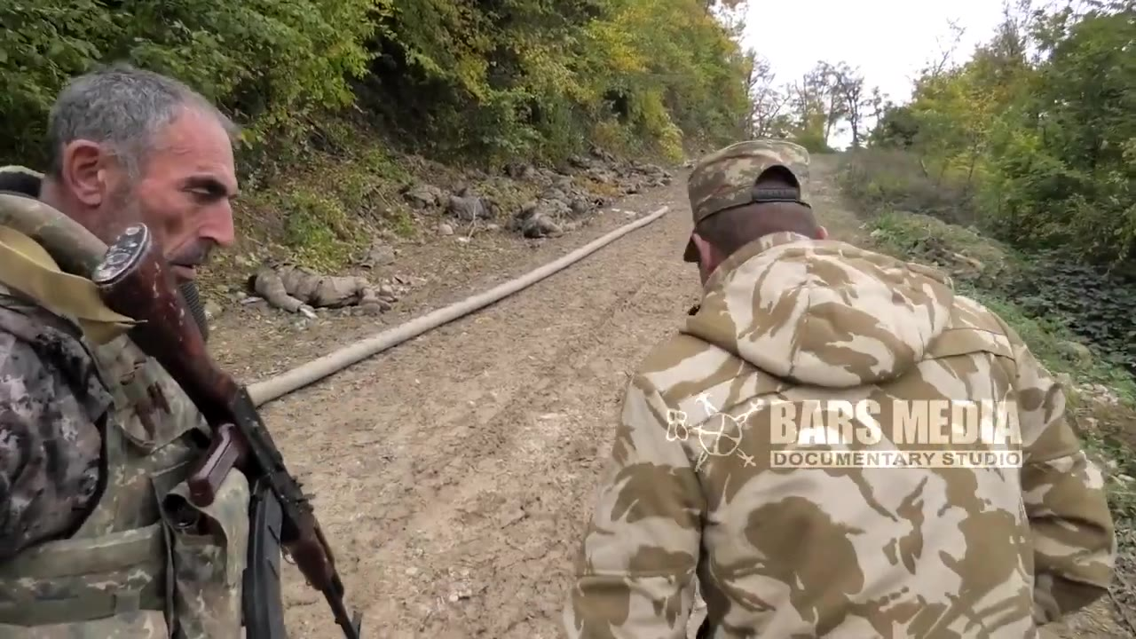 亚美尼亚军队伏击歼灭阿塞拜疆三个步兵排,亚军指挥官现场介绍战局
