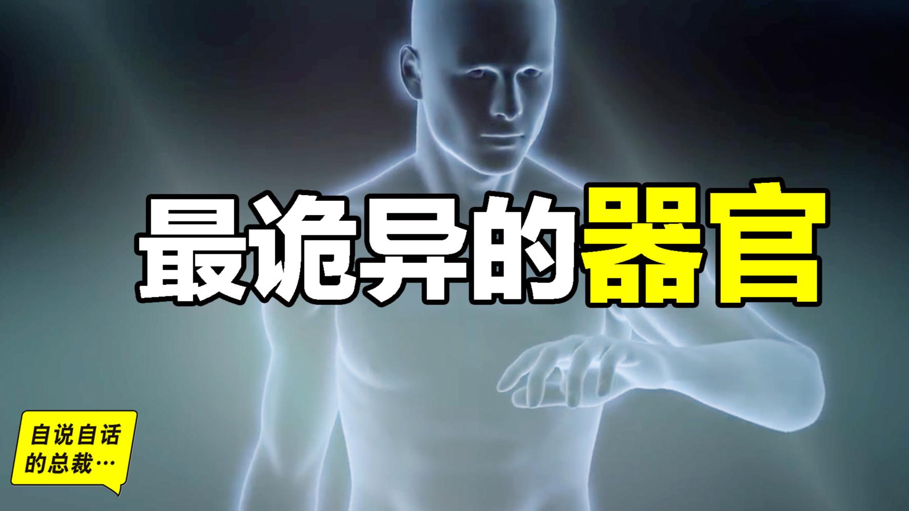 最诡异的器官,我们都被这个器官封装在超能力机甲当中... ...