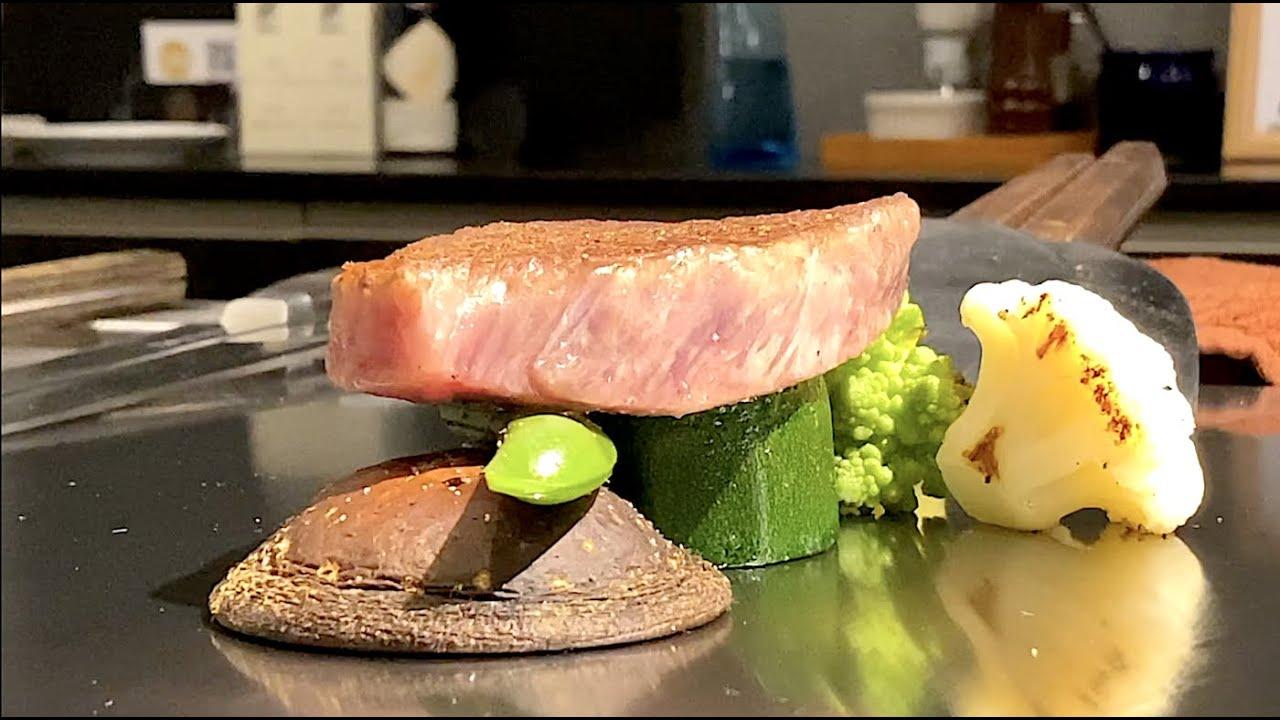这就是日本人吹上天的A5近江牛肉,表示顶级牛肉就得这样吃才讲究