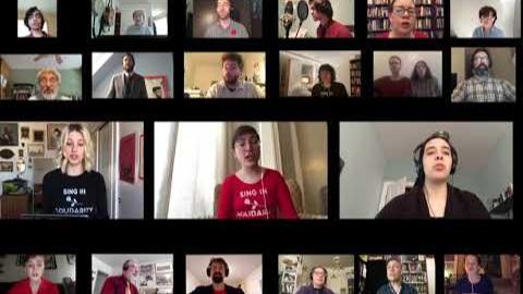 团结合唱团 - 《国际歌》