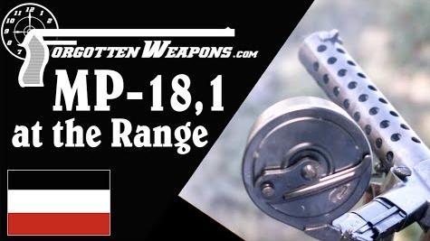 【被遗忘的武器/双语】靶场上的MP18,I--一战美国大兵的战利品