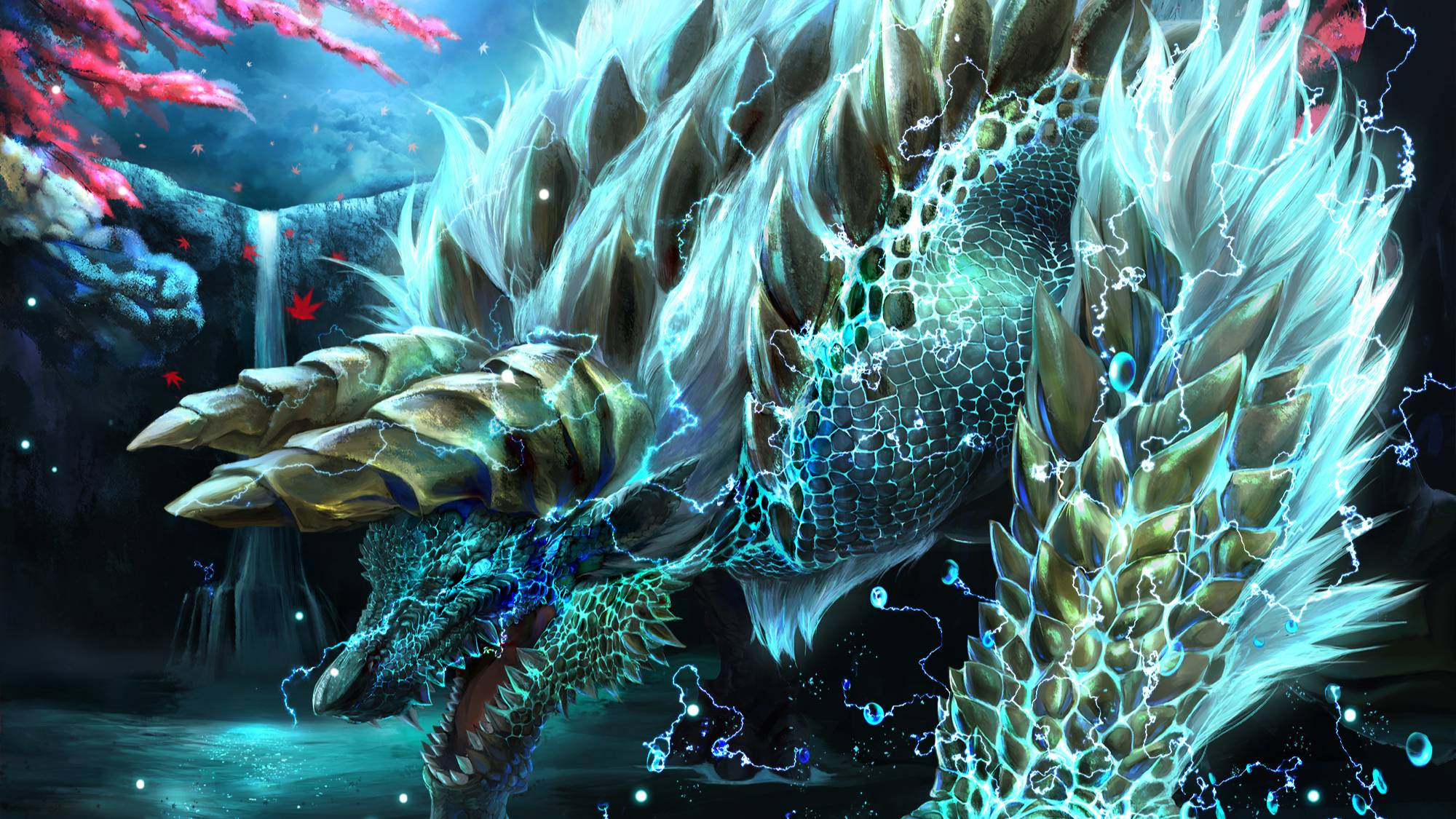 【MHWIB】【赤龙重弩三分半模块化狩猎斗技场雷狼龙(含减掉落物时间)】